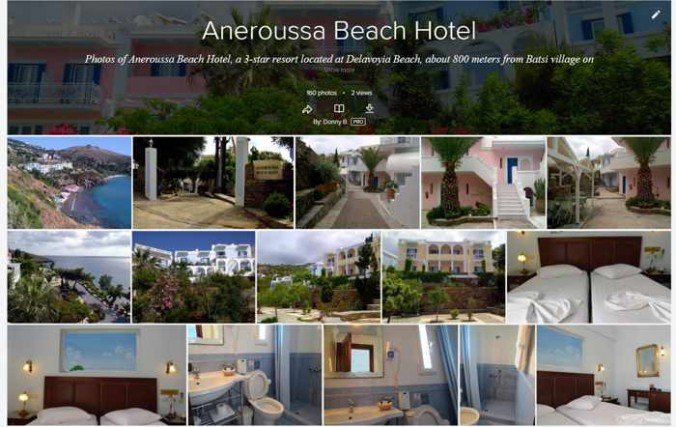 Aneroussa Beach Hotel photos on Flickr