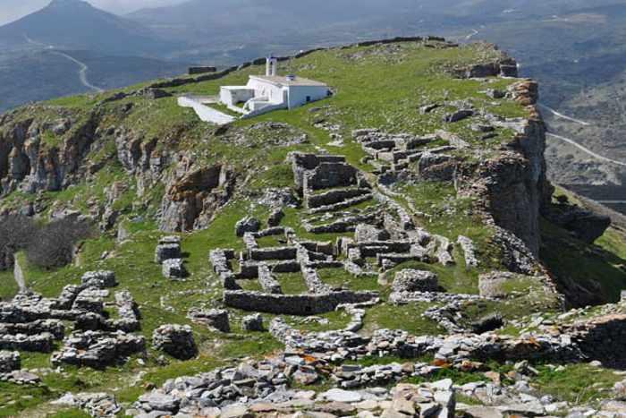 Faneromenis Castle Andros