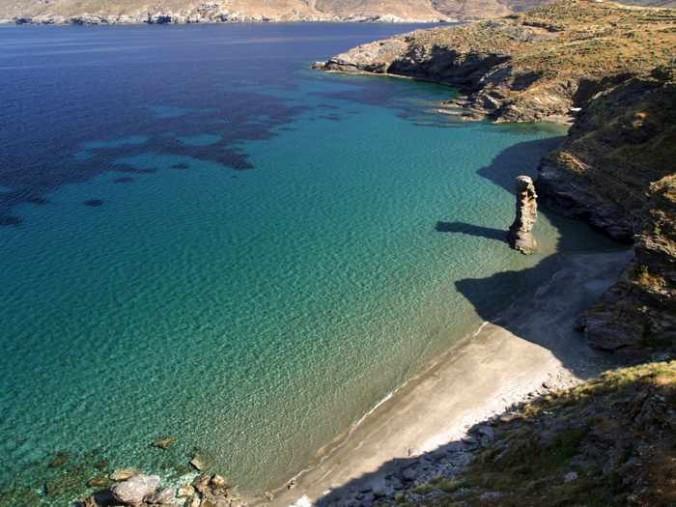 Grias Pidima beach Andros