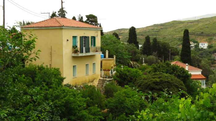 a house at Stenies on Andros