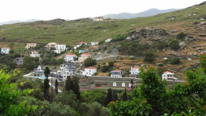 a villa in Stenies