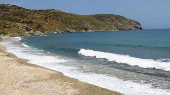 Gialia beach Andros