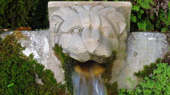water fountains at Menites