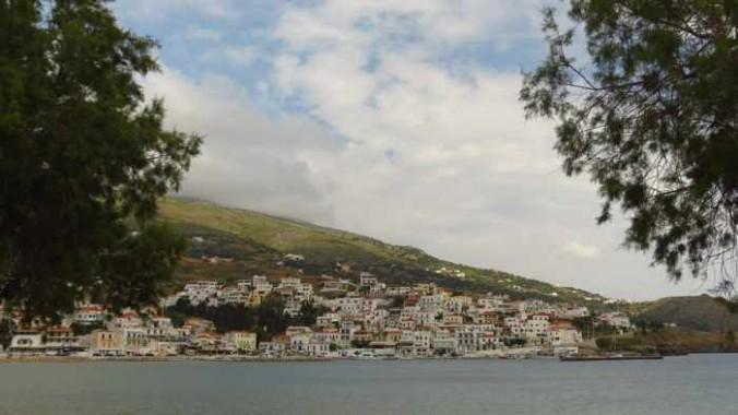 village view from Batsi beach