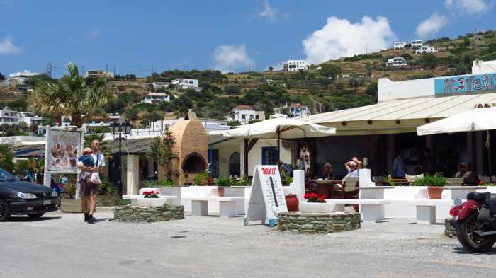 restaurants near Batsi beach I