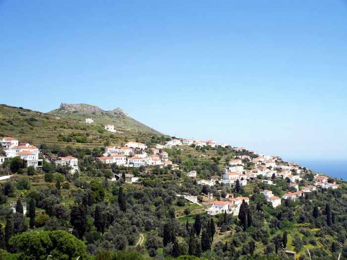 Kochylou village Andros
