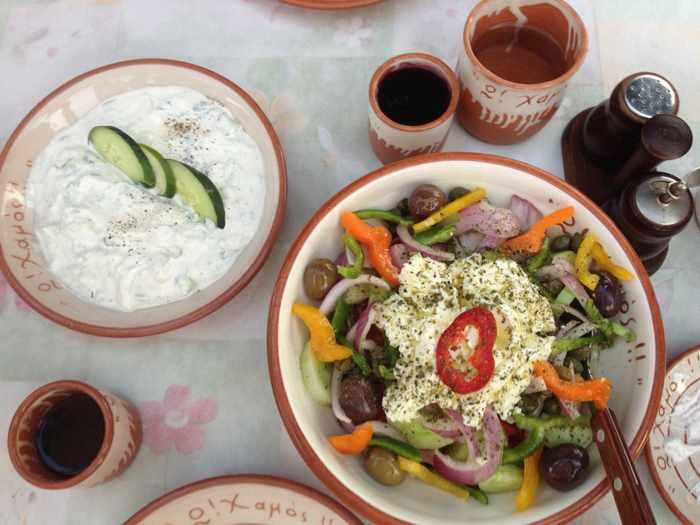 O Xamos restaurant Milos