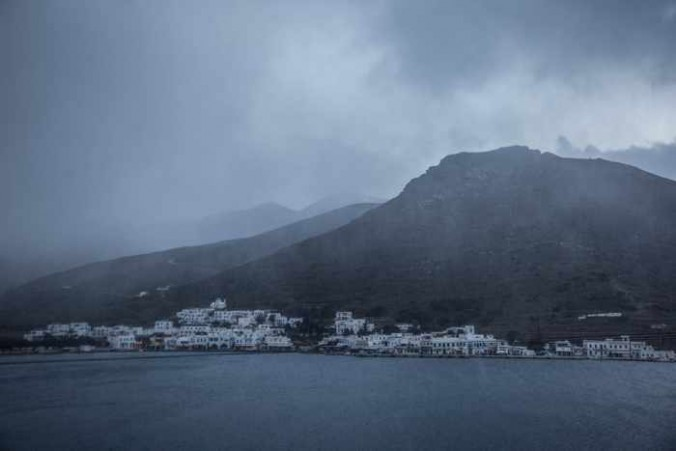 Snowflurries at Katapola on Amorgos photo shared on Facebook by Amorgos News IMG_4208