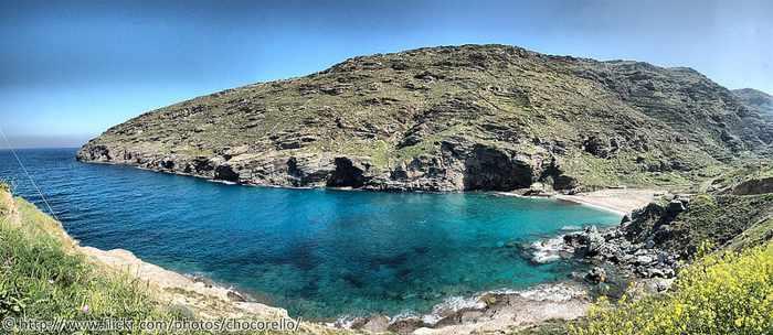 Syneti beach Andros