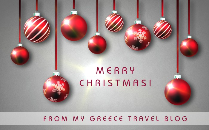 My Greece Travel Blog ChristmasCard