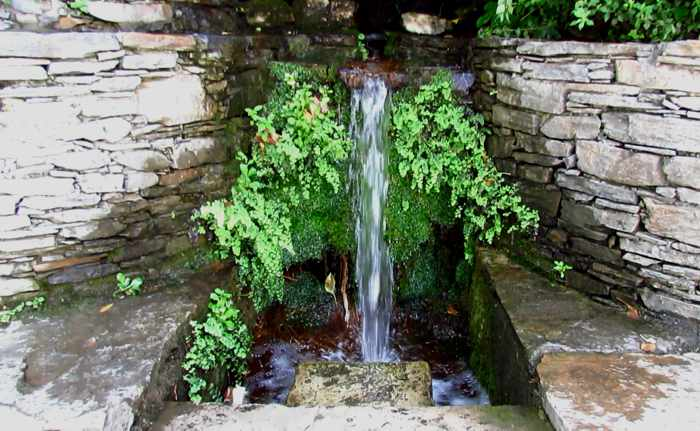 a water stream at Menites