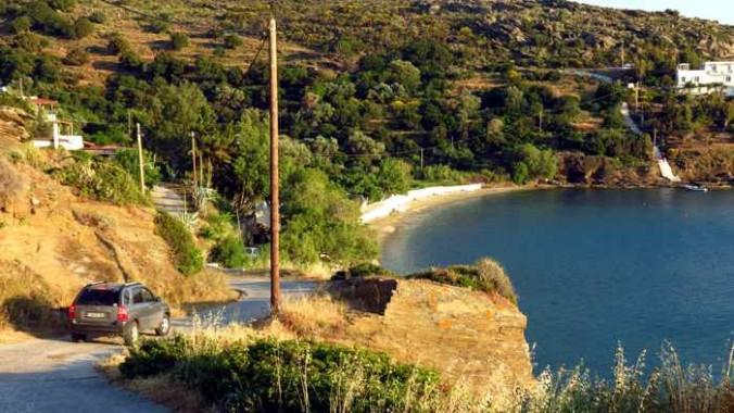 Agia Marina beach Andros