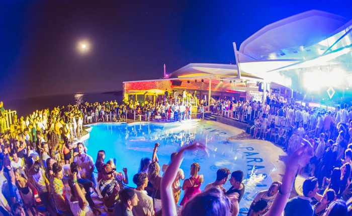 Cavo Paradiso Mykonos photo from the party club's Facebook page