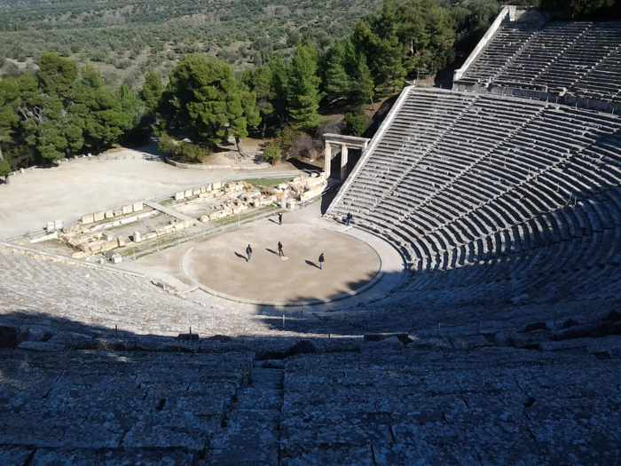 Epidavros amphitheatre photo by Christopher Butterworth