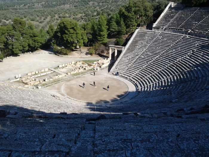 Epidavros amphitheatre photo by Christopher Butterworth
