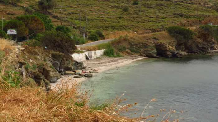 Stivari beach on Andro