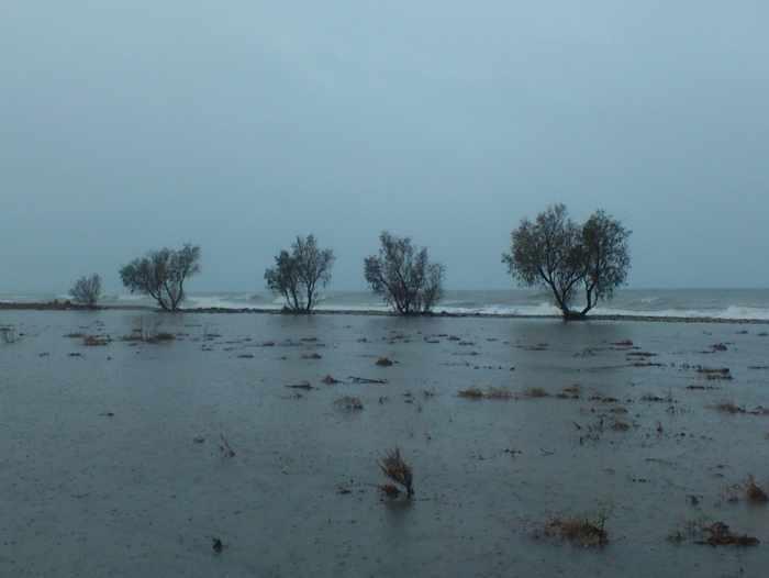 flooded area at Potokaki on Samos