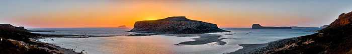 Balos sunset photo from gogreeceyourway.gr