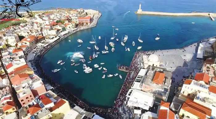 Chania Crete on Epiphany Day 2016
