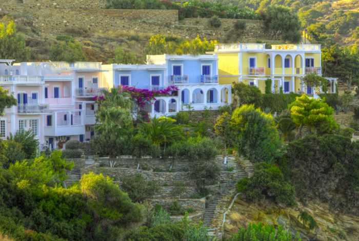 Aneroussa Beach Hotel  Andros