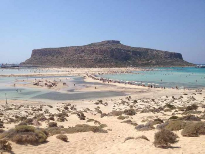 Balos Crete photo shared on Facebook by My Life in Travel