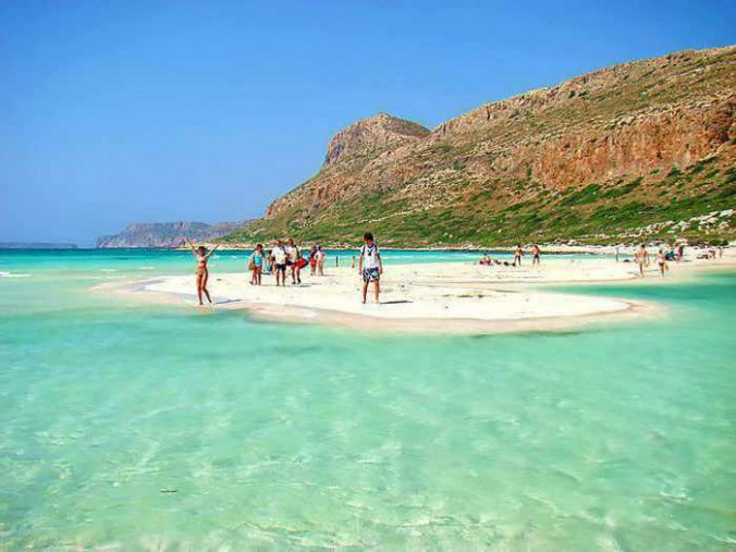 Balos beach photo from Googreece website