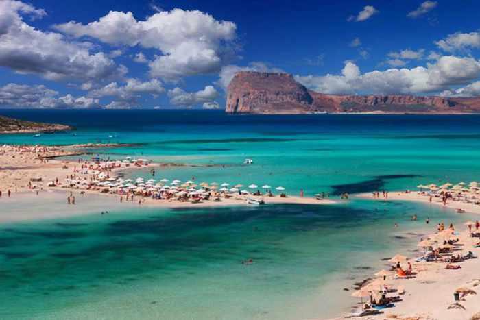 Gramvousa Island From Balos Beach