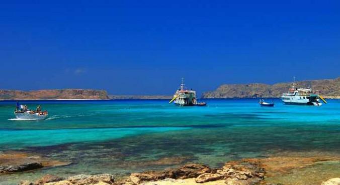 Balos lagoon photo 1 from Villas Crete Holidays website