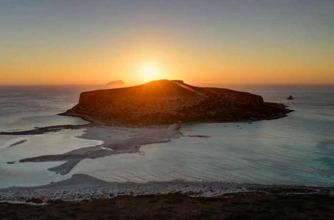 Balos sunset photo by Giannis Fountoulakis