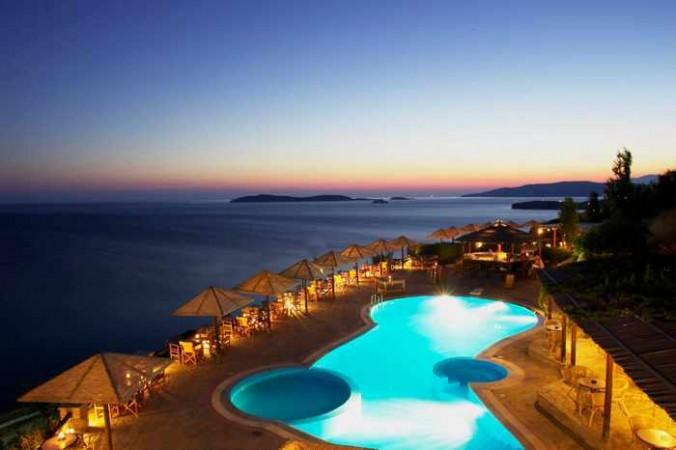 Blue Bay Resort Village on Andros