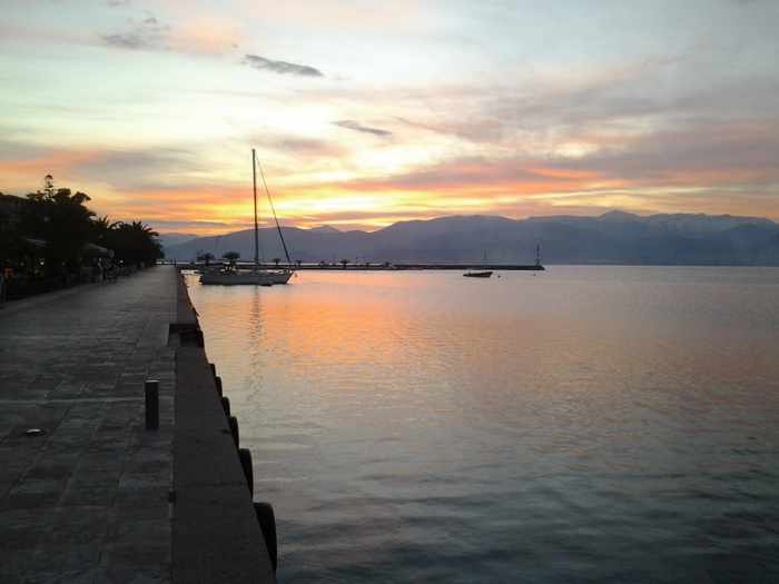 Nafplio sunset photo by Christopher Butterworth