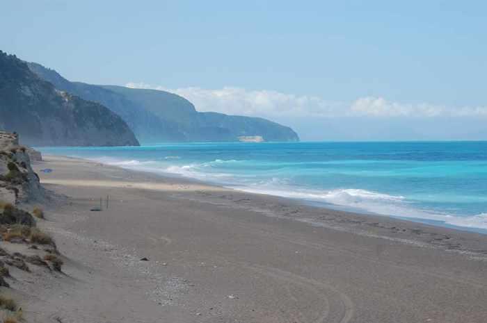 Gialos beach Lefkada photo