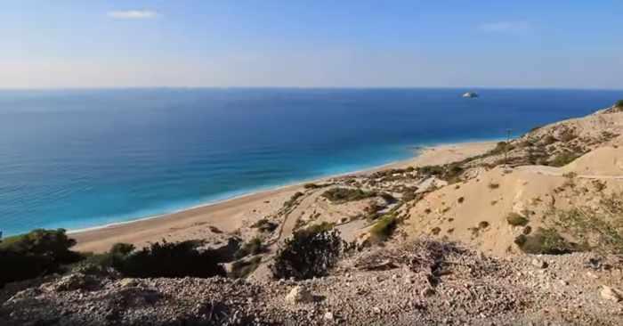 Gialos beach Lefkada