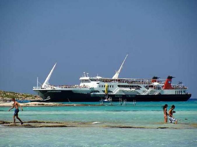Balos ferry boat from Cretan Daily Cruises