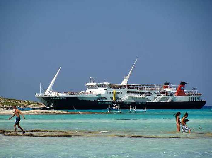Balos ferry boat from Cretan Daily Cruises