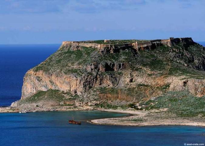 Gramvousa island photo from west-crete.com