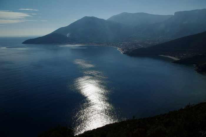 View toward Tyros village in Arcadia