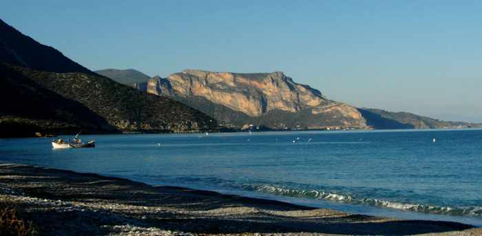 View from Myrto Taverna