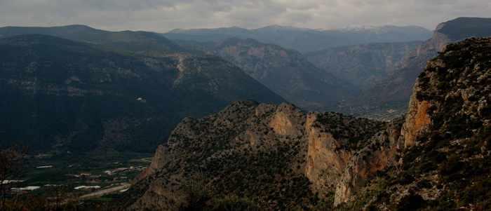 Dafnonas river gorge