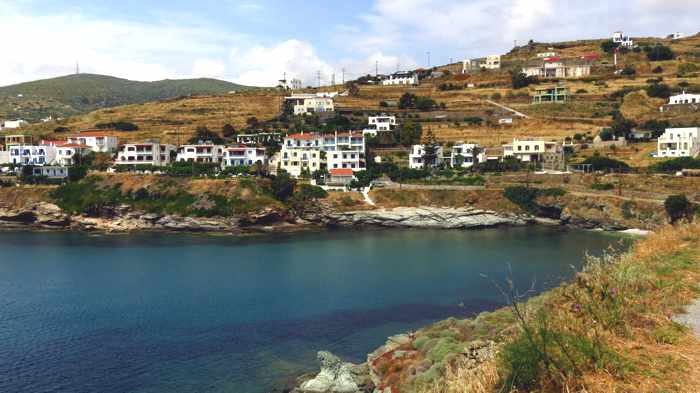 Stivari settlement on Andros