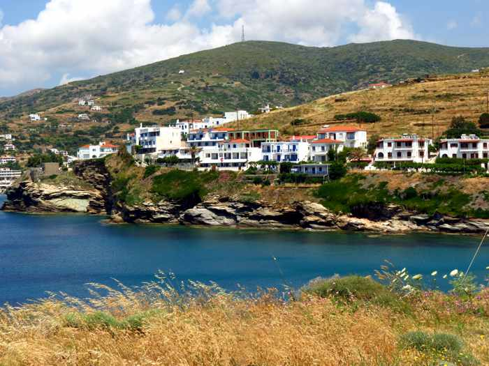 Stivari settlement area on Andros