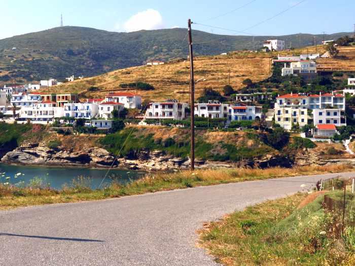 Stivari area of Andros