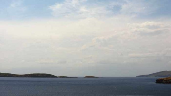sea view from Stivari Andros