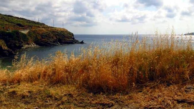 Andros coast view from Stivari