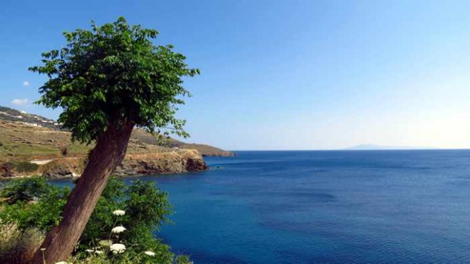 sea view from a sitting area in Stivari
