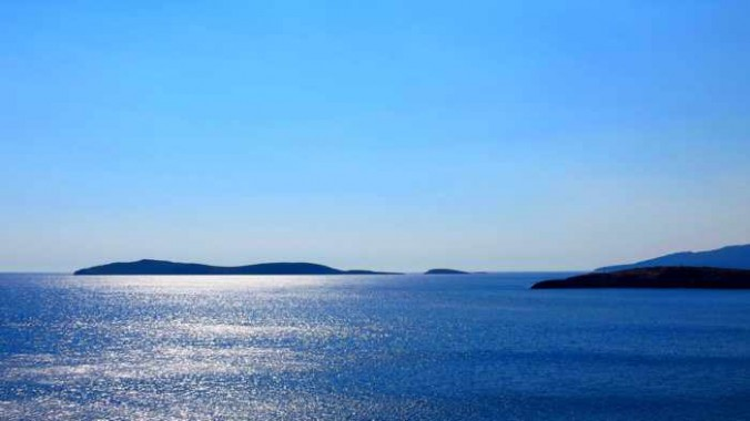 sea view from Stivari area of Andros