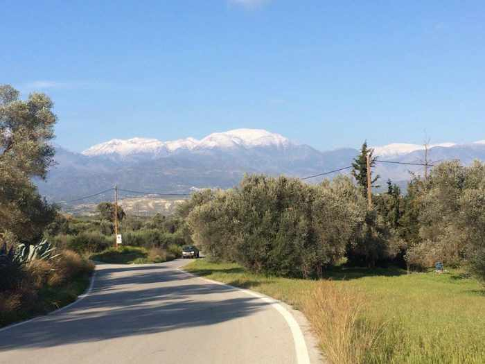 Sivas area in Lasithi region of Crete