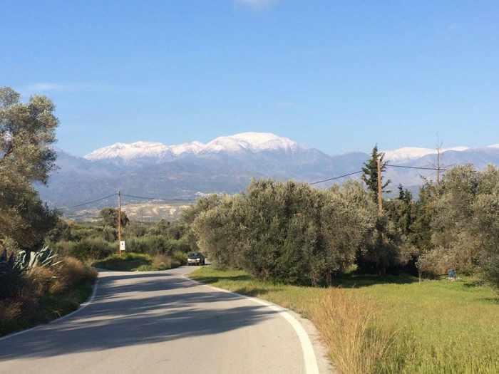 Sivas area in Lasithi region of Crete