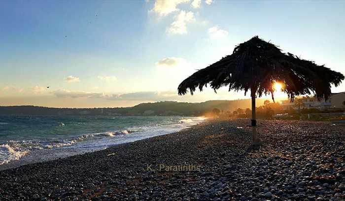 Kapa Paratiriths photo of a beach on Rhodes
