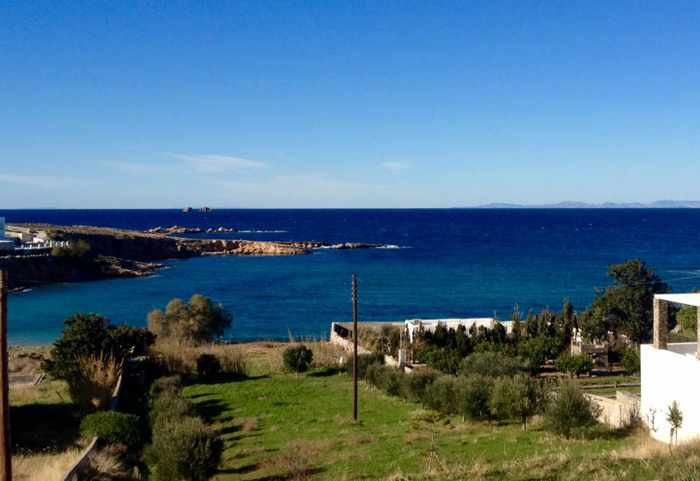 Parosweb photo of view near Delfini beach